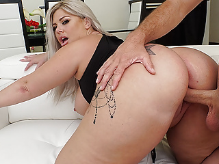 Big Butt Ashley Barbie Oiled and Stuffed Properly