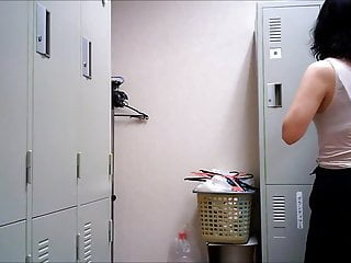 Changing Room - Girl In The Locker Room