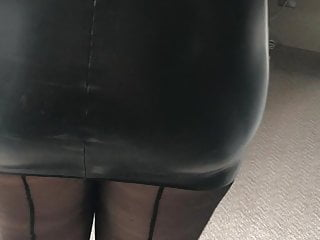 Wife in latex and stockings
