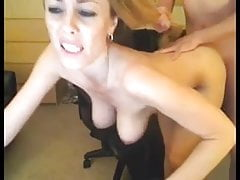 Cam Slut takes it in different positions