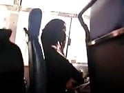 Niqab woman gets flashed in bus she like it
