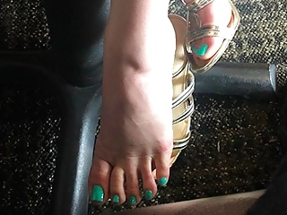 A TEA DATE and Under The Table FOOT PLAY