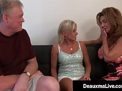 Wicked Wife Deauxma & Horny Husband Fuck Milf Payton Hall!