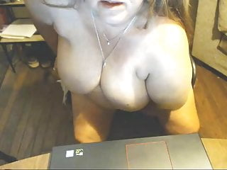 Chubby granny squirt