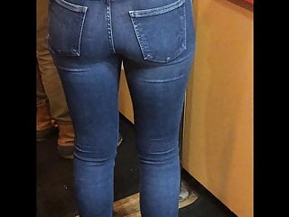 Opulent Sexy Jeans Candid Booty (Sunshine)
