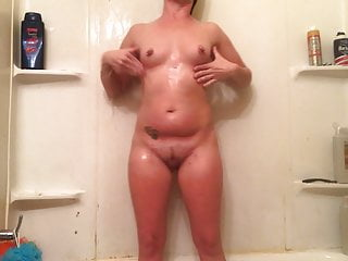 Shower playing