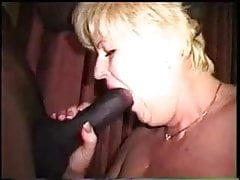 White Bitch Gets All 3 Holes Ripped Open by Massive BBC!