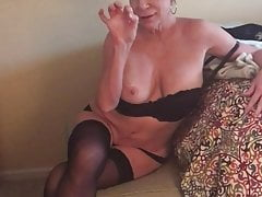 Stunning Milf strip and tease