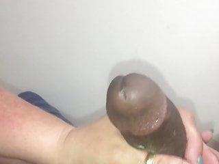 Getting my cock stroked by my coworker