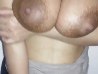 Indian paki wife gf milf playing with big tits