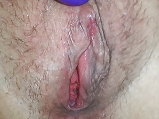 My wifes pussy while orgasmus