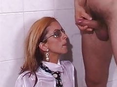 Pissing on the Business Lady Part 2