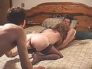 Threesome with hubby and his friend