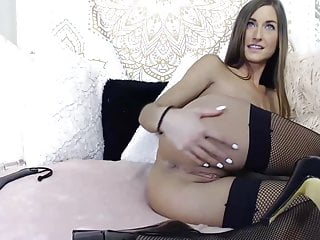 Amazing fit camgirl camshow with anal