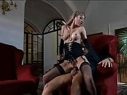 Black Stockings BAMBOLA Hard Fucking On Sofa