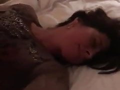 hotwife talking to husband while fucked