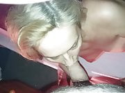 Anonymous MILF Sucking Cock!