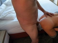 Chloe is Late Coming Back to the Hotel...So She Gets Fucked!
