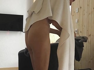 out of shower
