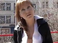 Hot milf with beautiful tits