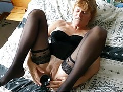 Sexy hairy mature Natalie from France By GORAN37