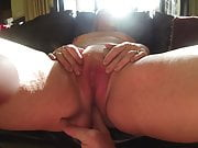 A look inside mature wife Karens pussy